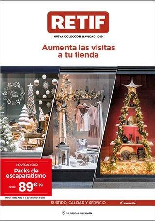 Catálogo de decoración de Navidad RETIF