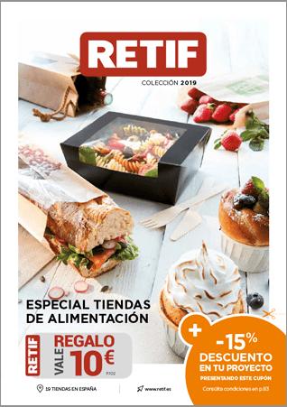 Catálogo RETIF para comercio de Alimentación