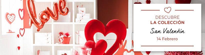 Decoración de San Valentín para tiendas