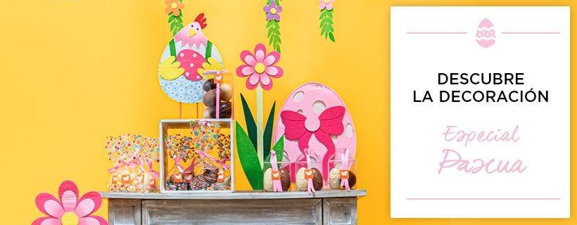 Decoración de Pascua para tiendas