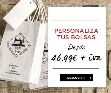 Bolsas personalizadas para tiendas y comercios