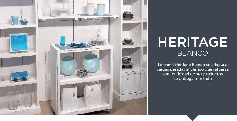Colección heritageBlanco