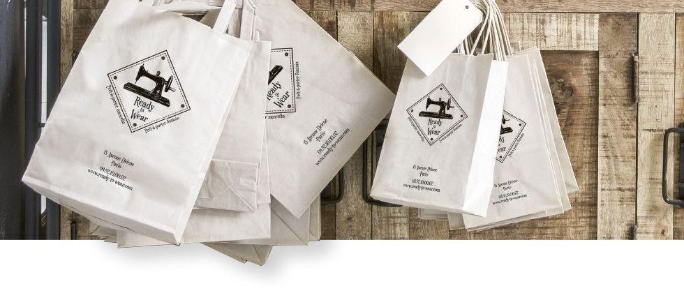 Bolsas personalizadas para tienda