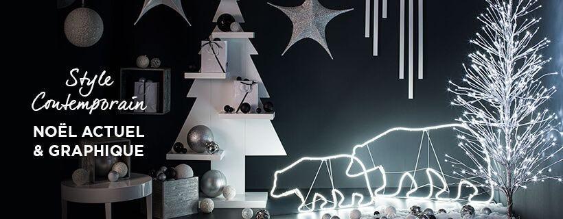 Ambiance Noël Style Contemporain