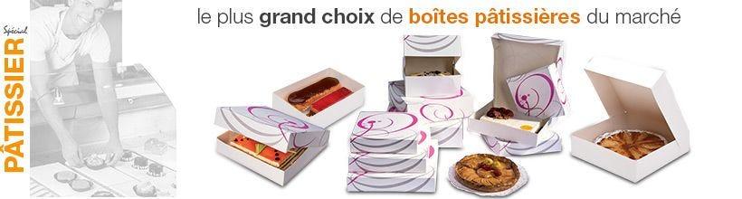 Speciale Pâtissier - Grand choix de boîtes pâtissières
