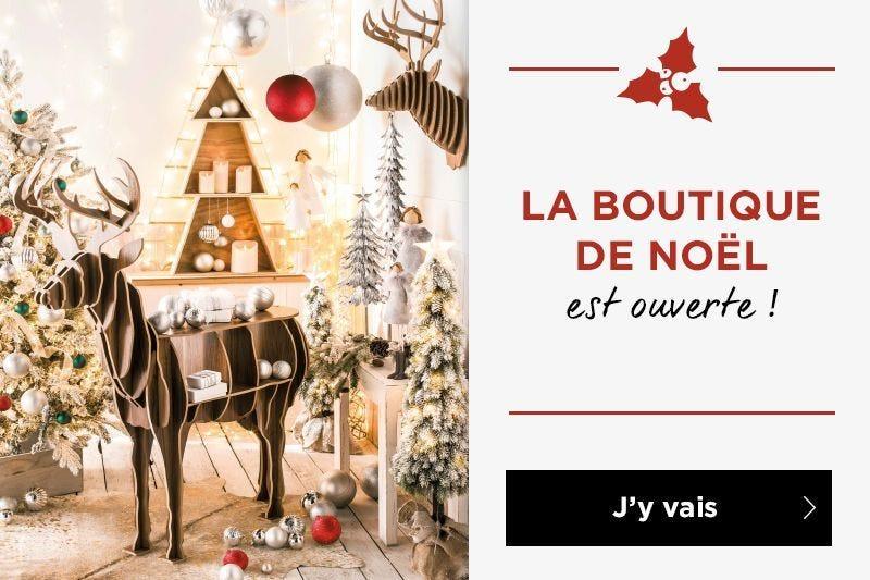 La boutique de Noël est ouverte!