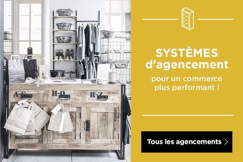 Tous les systèmes d\'agencement magasin
