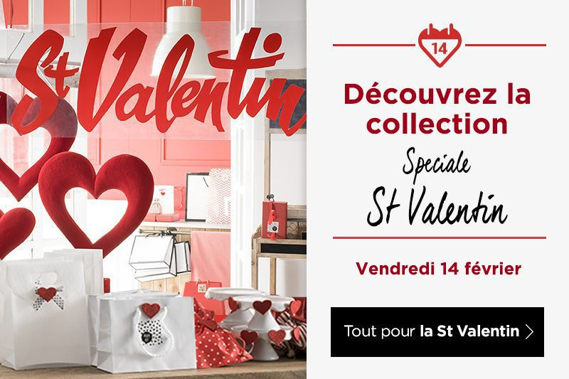 Découvrez la nouvelle collection Saint Valentin 2020