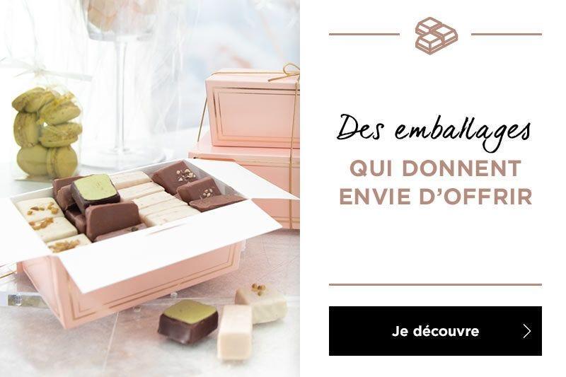 Découvrez tous les emballages confiserie et chocolat Noël 2020