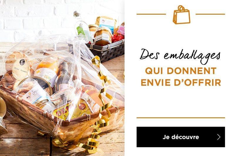 Tout l\'emballage Noël spécial épiceries fines est là !