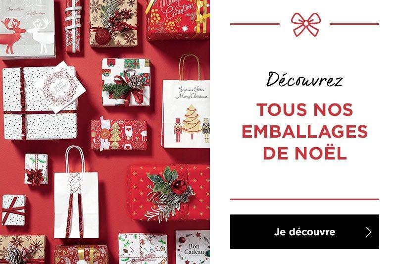 Découvrez la nouvelle collection d\'emballages Noël 2020