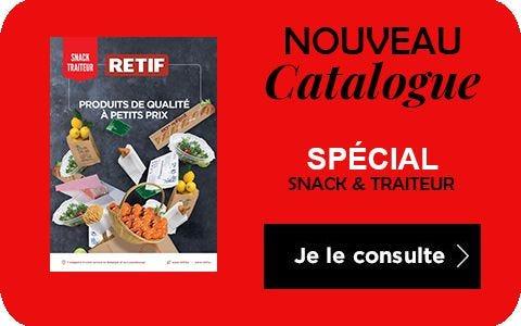Nouveau catalogue spécial snack et traiteur!