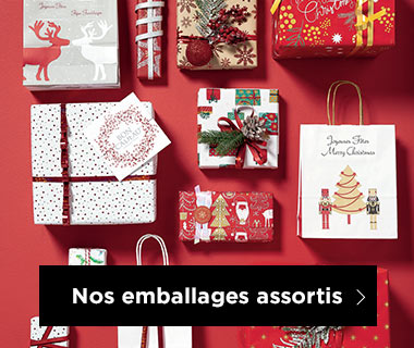 Emballages Noel collection Esprit tradition assortis