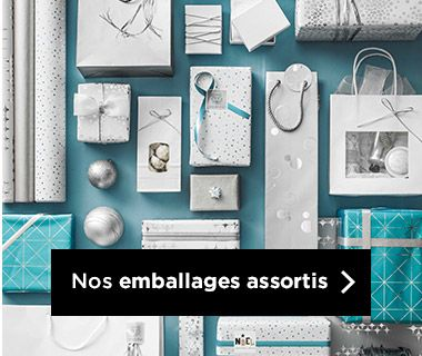 Emballages Noel 2019 collection Arctic assortis