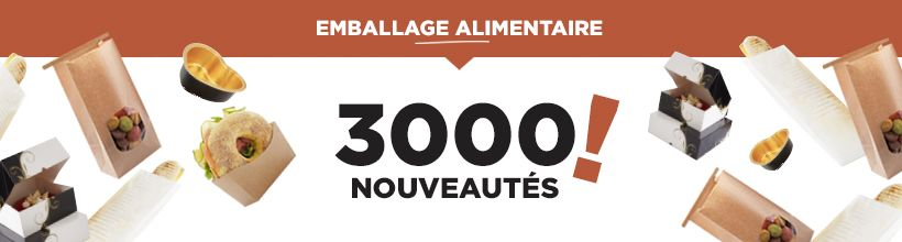 Emballage alimentaire : 3000 nouveautés à découvrir dès le 02 mars !