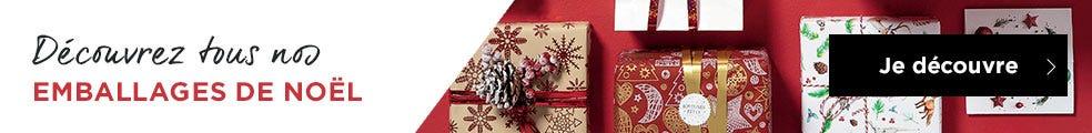 Tout l'emballage Noël 2020 est là !