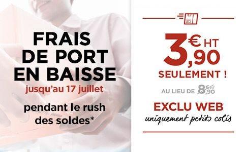 Baisse des frais de port à 3.90 Euros sur les petits colis
