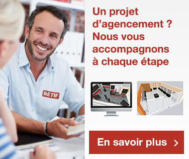 Agencement de magasin par RETIF