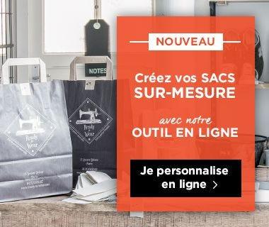 Personnalisez vos sacs de magasin avec votre logo