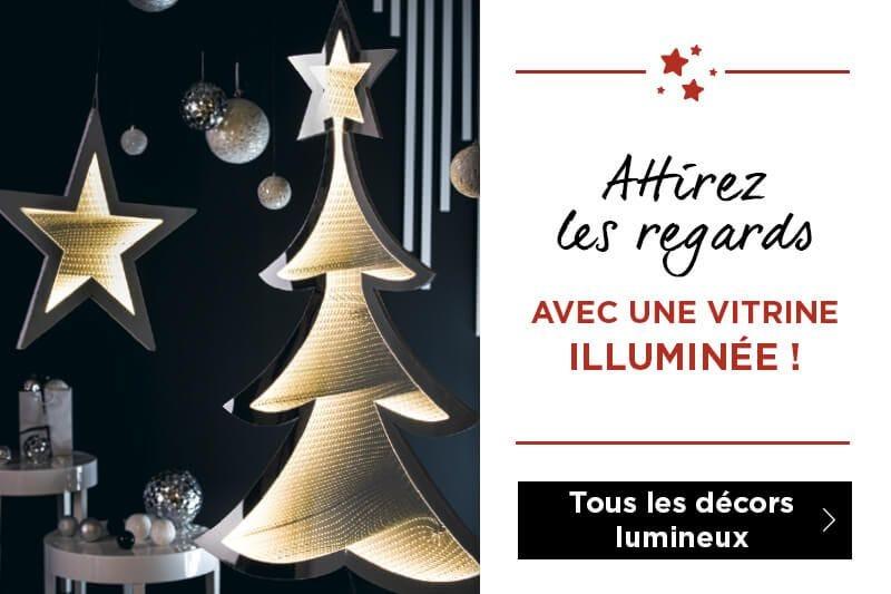 Décoration électrique et lumineuse Noël 2019