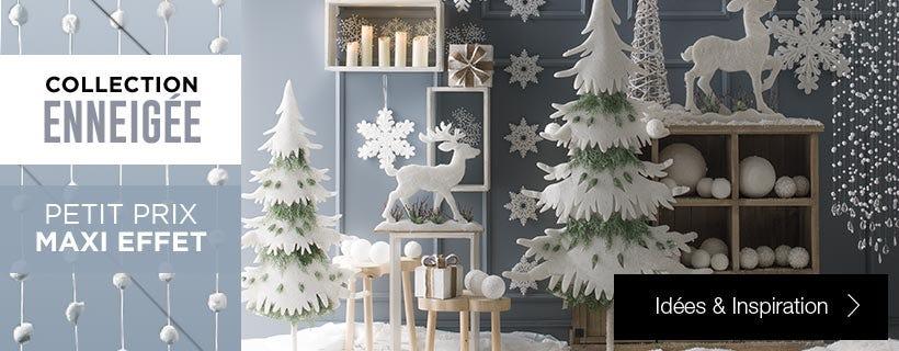 Inspiration déco Noël enneigé