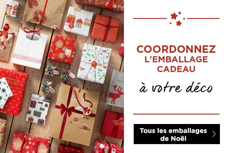 Découvrez tout l\'emballage Noël 2019 !