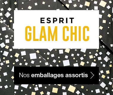 Emballages Noel 2017 collection Esprit Glam Chic assortis
