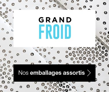 Emballages Noel 2017 collection Grand Froid assortis