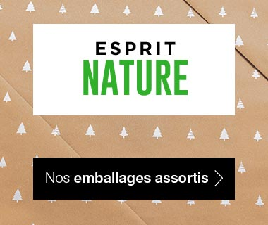 Emballages Noel 2017 collection Nature assortis