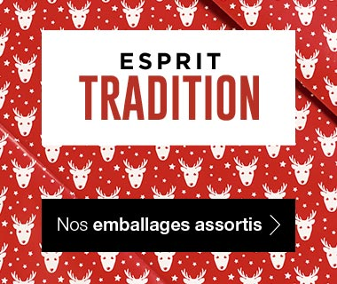 Emballages Noel 2017 collection Tradition assortis