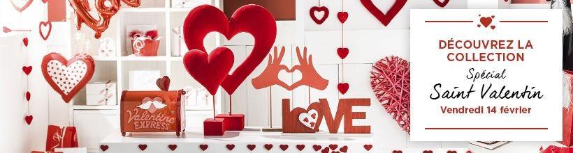 Spécial Saint-Valentin 2020 : Nouvelle collection décoration et emballage à découvrir !