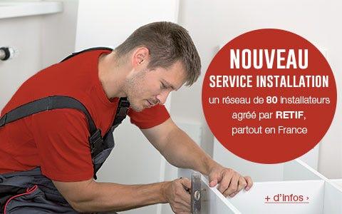 Service montage et installation