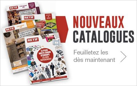 Nouveaux 4 catalogues Août