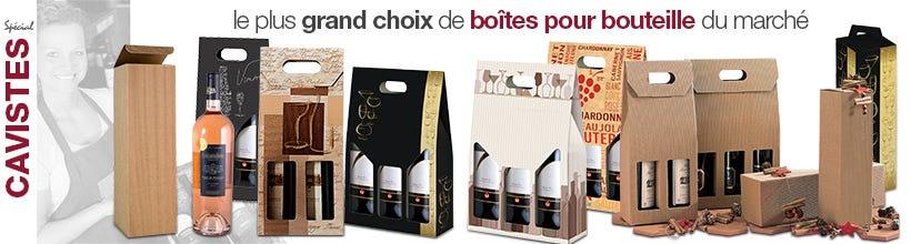 Boites pour bouteille de vin