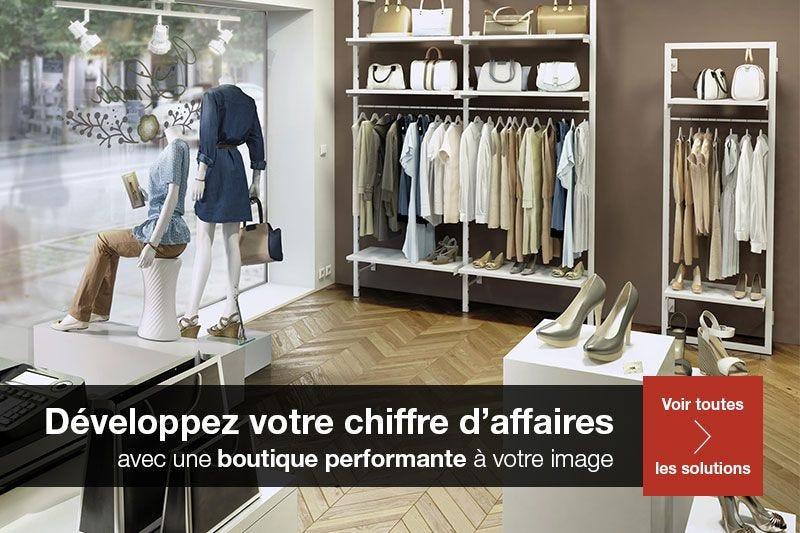Concepts de boutiques
