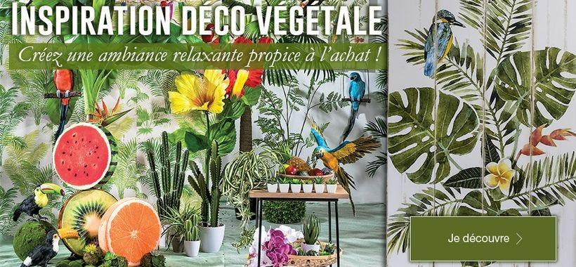 Nouvelle inspiration déco végétale pour votre commerce !