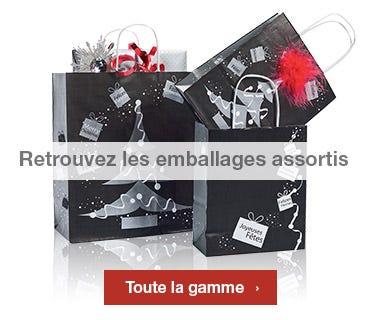 Emballages Noel 2015 collection Argentée assortis