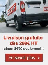 Livraison offerte dès 299 euros