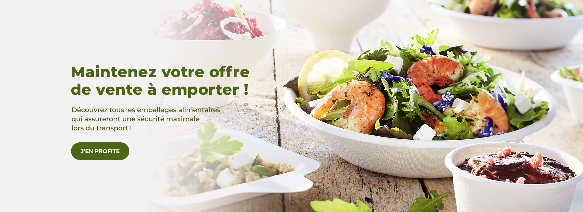 Restaurants : maintenez la vente à emporter après la réouverture