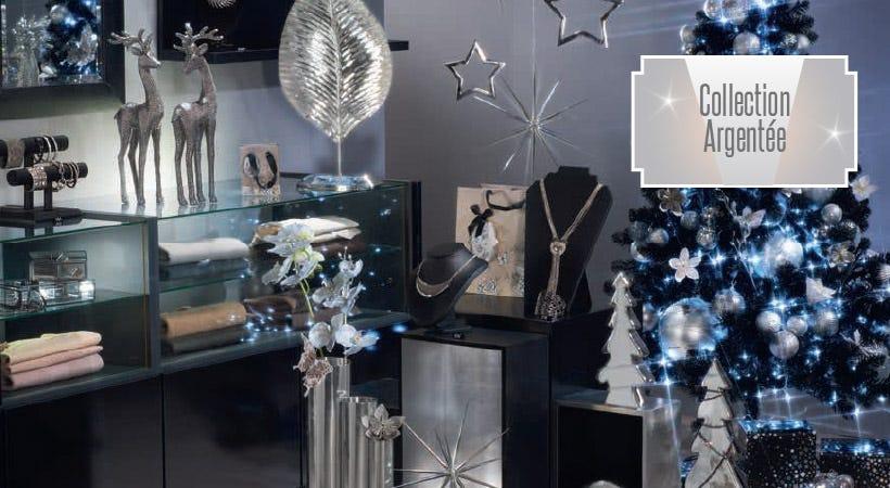 Décoration de Noël collection Argentée