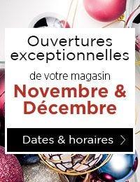 Dates et horaires des ouvertures exceptionnelles des magasins fin d'année 2017