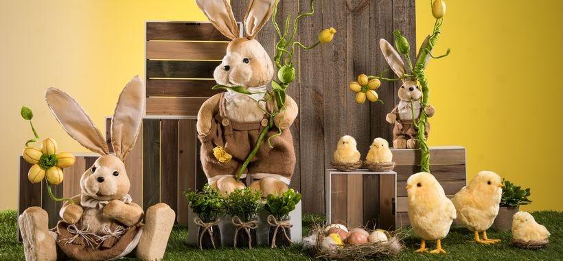 Nouvelle collection déco Pâques Douceurs au naturel 2018 à découvrir !