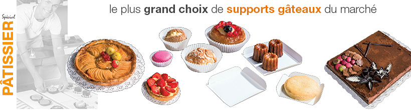Supports pour gâteaux