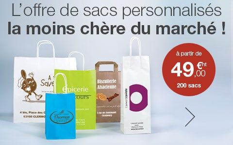 Personnalisation de vos sacs