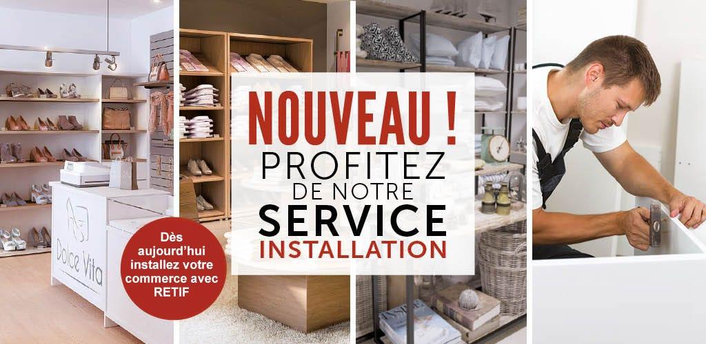 Service montage et installation RETIF