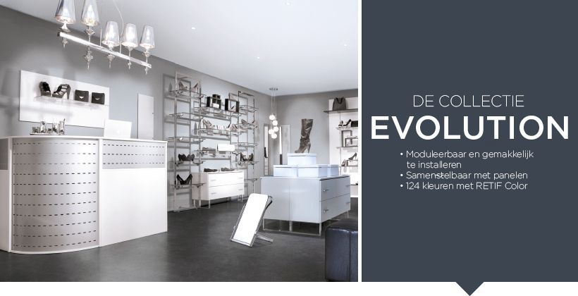 De collectie Evolution