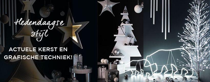 Kerst Black hedendaagse stijl