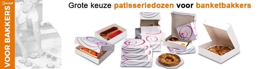 Speciaal voor bakkers - Grote keuze patisseriedozen