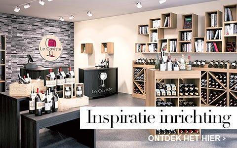Inspiratie inrichting drankenhandel