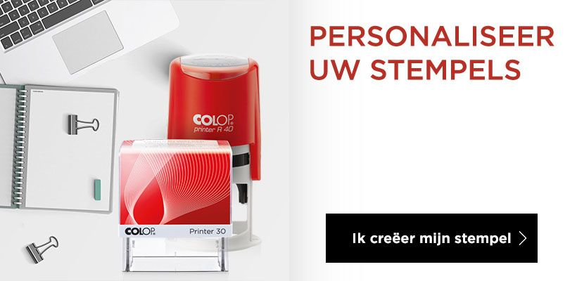 Personaliseer uw stempels online !